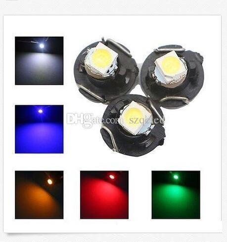 12V 1SMD T3 T4.2 T4.7 LED 네오 웨지 LED 전구 클러스터 계기 대시 보드 대시 표시기 전구 AC 패널 벌브