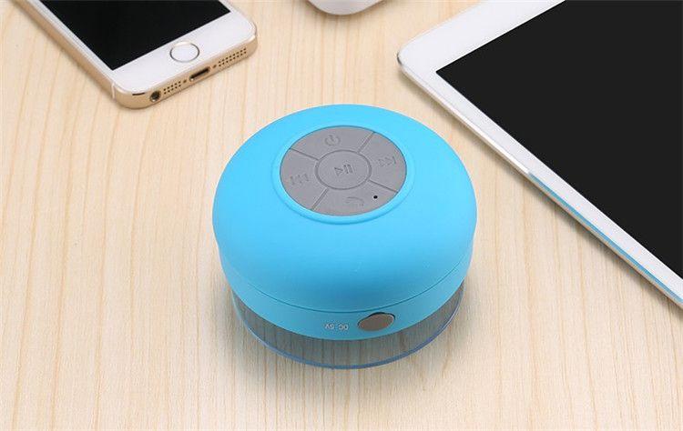 Tragbare wasserdichte lautsprecher mini drahtlose bluetooth freisprecheinrichtung badezimmer dusche lautsprecher alle geräte für iphone laptop duschen badezimmer