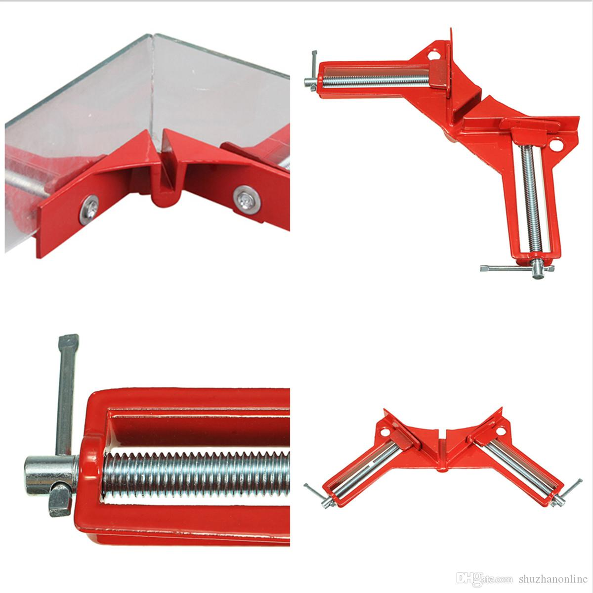 Multifunction Right Angle Clip 90 Degree Clamps Corner Holder Woodworking Tool