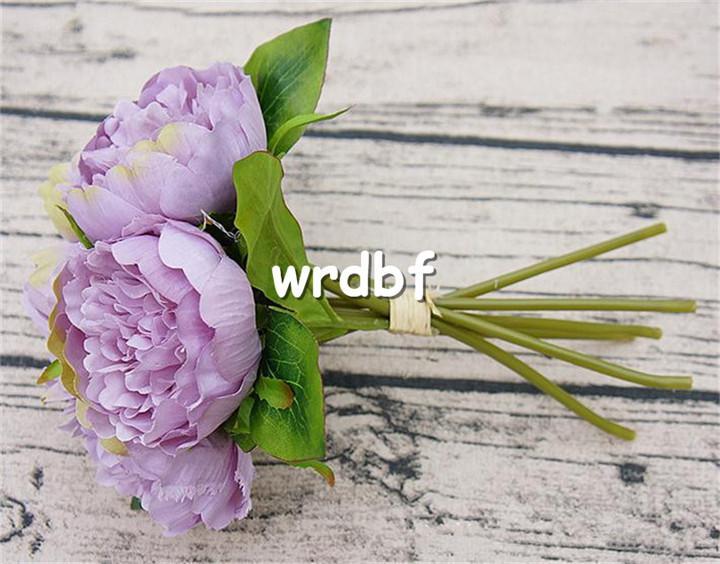 가짜 모란 꽃다발 26cm / 10.24