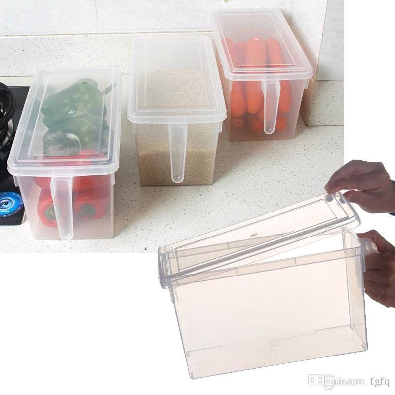 2018 Food Storage Containers Fridge Organizer Crisper Case Box With