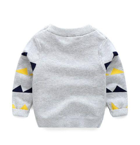 New Kid Baby Boys 공룡 풀오버 긴팔 탑 T 셔츠 스웨트 연령 2-7