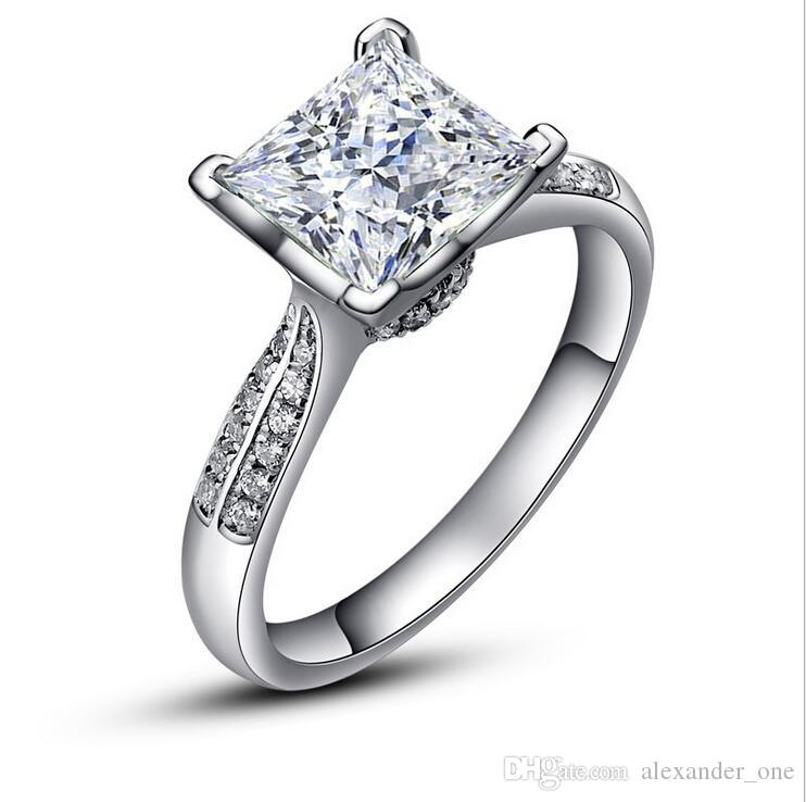 2019 Luxury Pure Silver Wedding Rings ChiBrand Jewelry ...