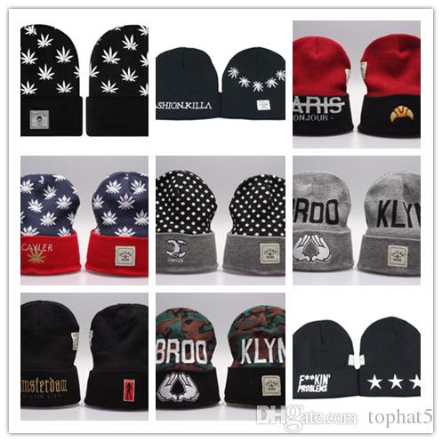 Top Sale wholesale and retail Cayler & Sons Beanies hats Winter Beanie-Wasted Beanie Beanies Hats top quality Snapback Caps Free shipping