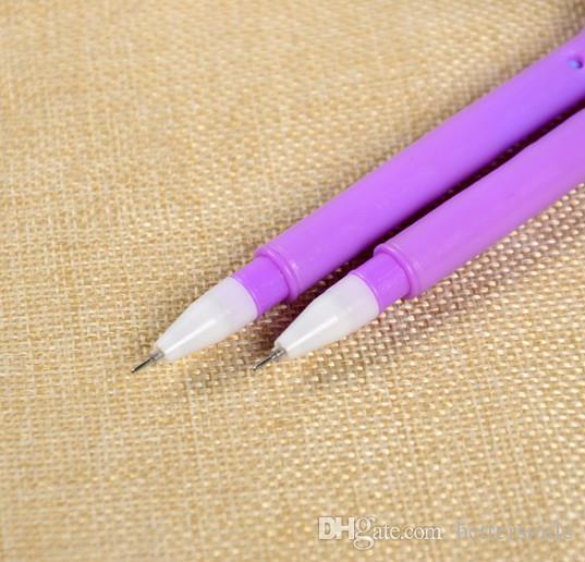 bolígrafo de gel al por mayor libre del envío / del color hueso escritura de la pluma neutral del estudiante de la pluma 0.5mm negro 083
