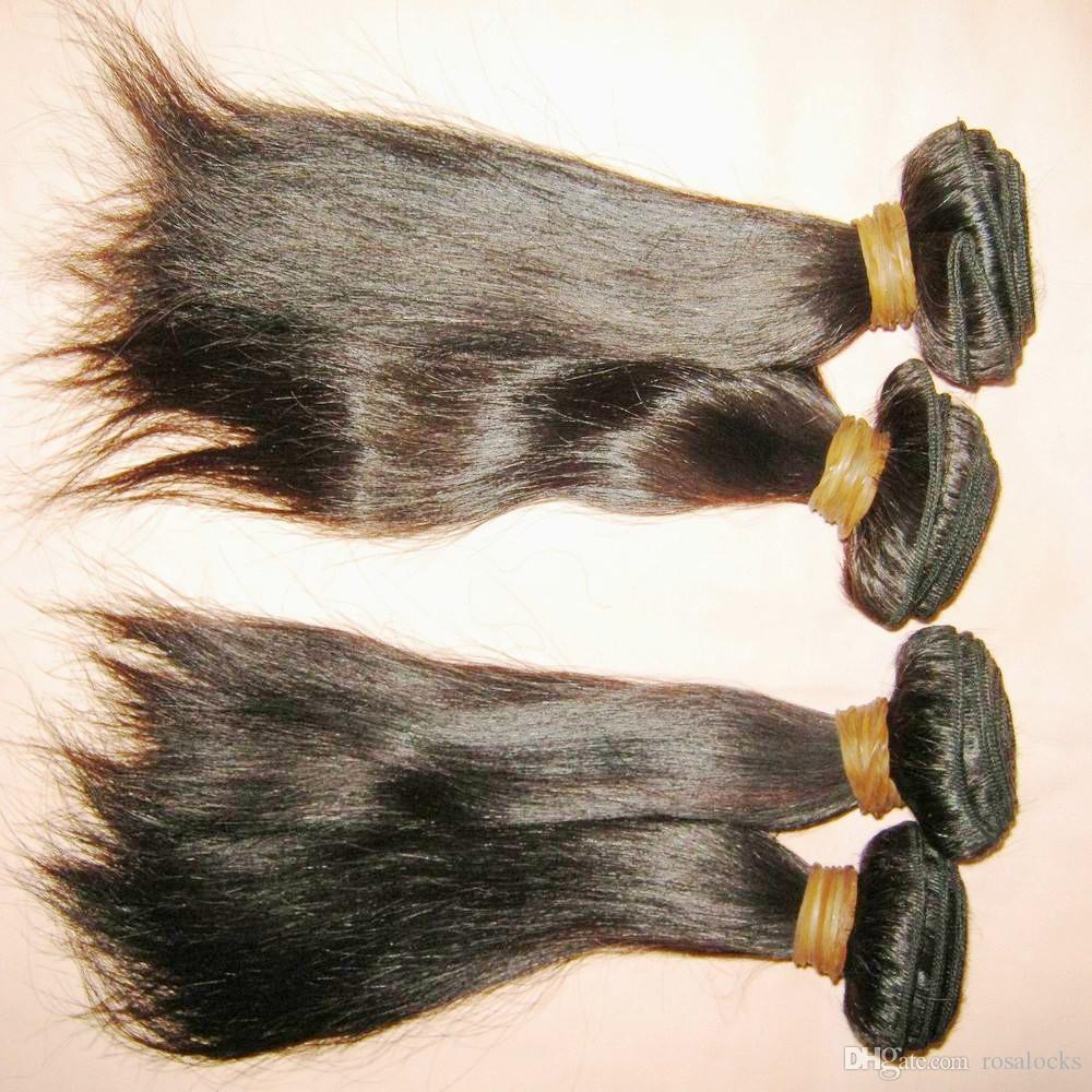 2019 Super Salon Beauty Crochet Weave Malaysian raw Human Hair Silky Straight 300gGrade 8a