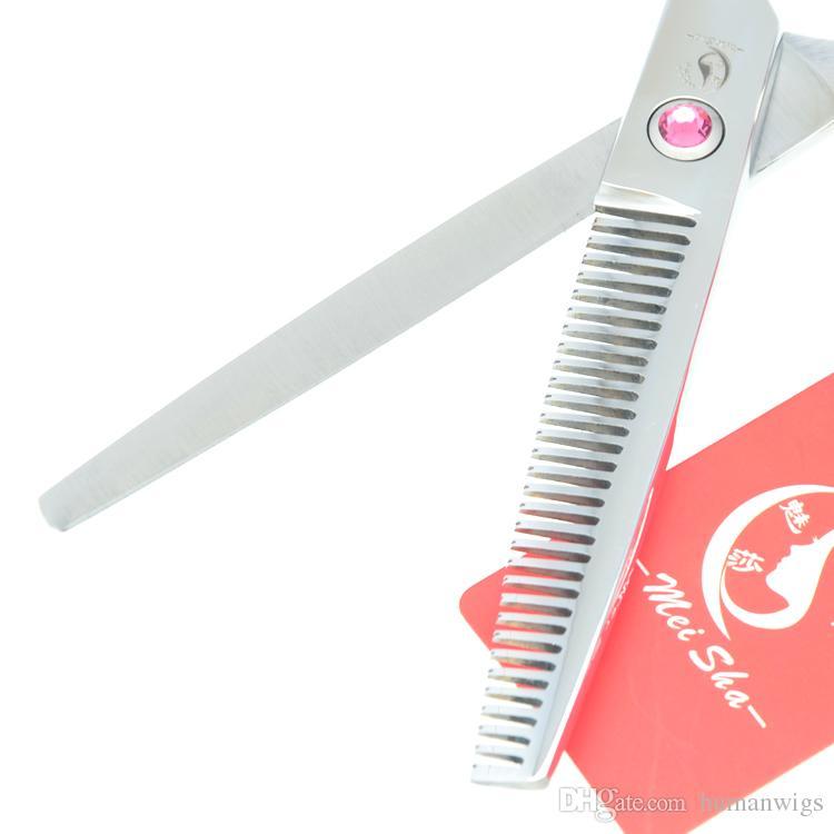 5.5 Inch 6.0 Inch 6.5 Inch 7.0 Inch New Meisha Forbici da Barbiere Forbici da Parrucchiere Cane Professionale Pet Capelli Umani Cesoie Aderenti, HA0102