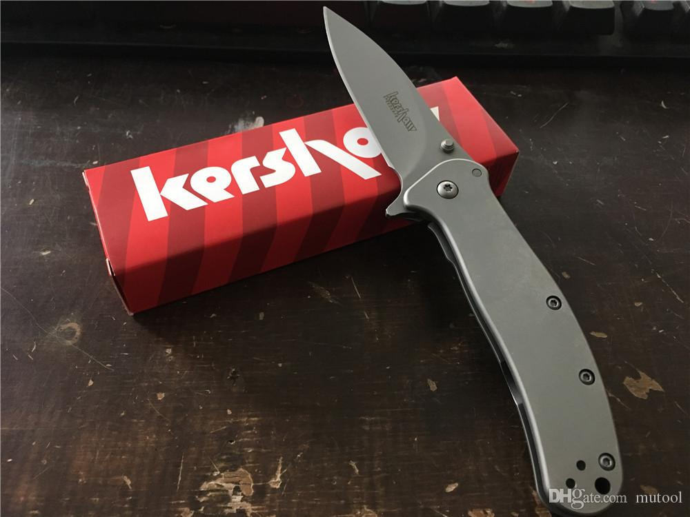 OEM Kershaw 1730ss 2200 1730SS 1556TI Muy suave Camping Supervivencia Cuchillo plegable Cuchillo de regalo Herramientas al aire libre OEM Cuchillos Cuchillo de caza