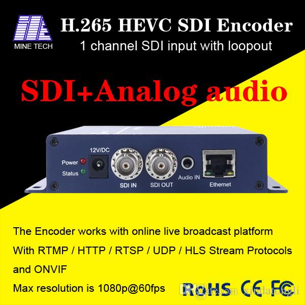 H 265 3G HD SD SDI Video Encoder Stream для wowza, xtream-кодов  IPTV-сервер, онлайн-трансляция трансляций и