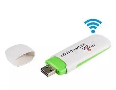 Wholesale- 7.2Mbps 3G USB Modem Mobile Wifi Router with SIM Card wifi Dongle for Car/Bus