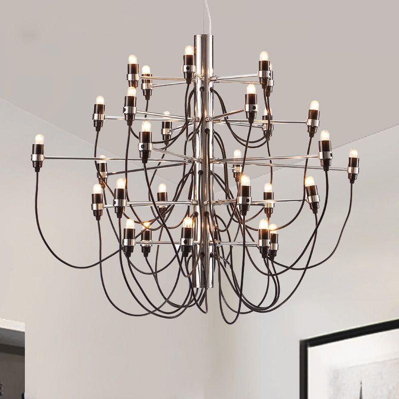 Led Modern Fireworks Pendant Lamps American Candles Pendant Lights ...