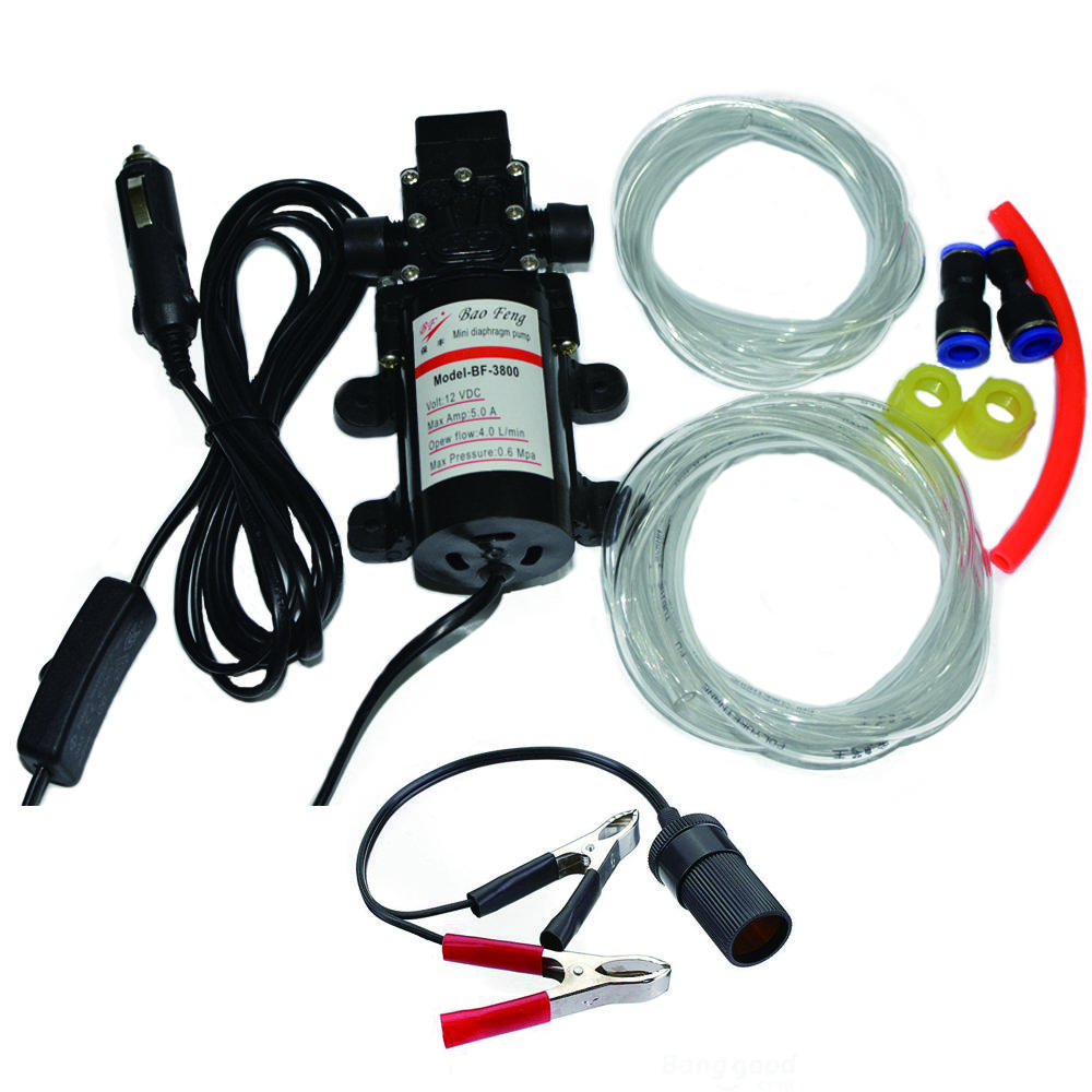 Vente En Gros 60 W Professionnel Electrique 12 V Pompe A Huile Diesel Huile De Carburant Moteur Extracteur Pompe De Transfert