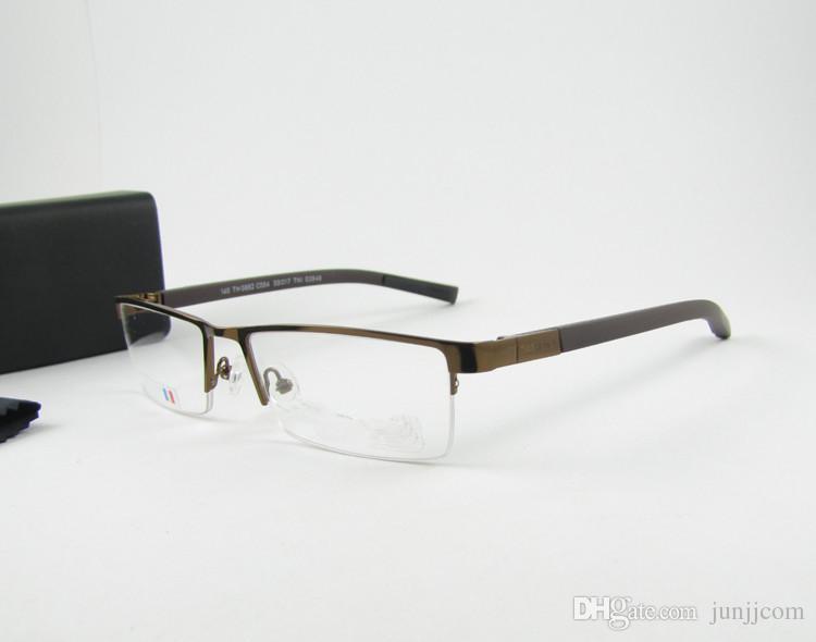 2017 Brand TH0882 Lentes Metal Eye Glasses Frame Whole Sale Gafas Optical Eyeglasses Frame For Men Women Oculos De Grau For Tag