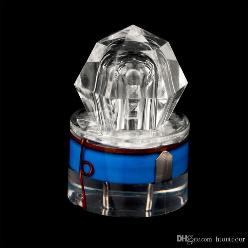 i LED Deep Drop subacquea diamante pesca luce lampeggiante notte pesca esca esca lampada sommergibile calamari strobo