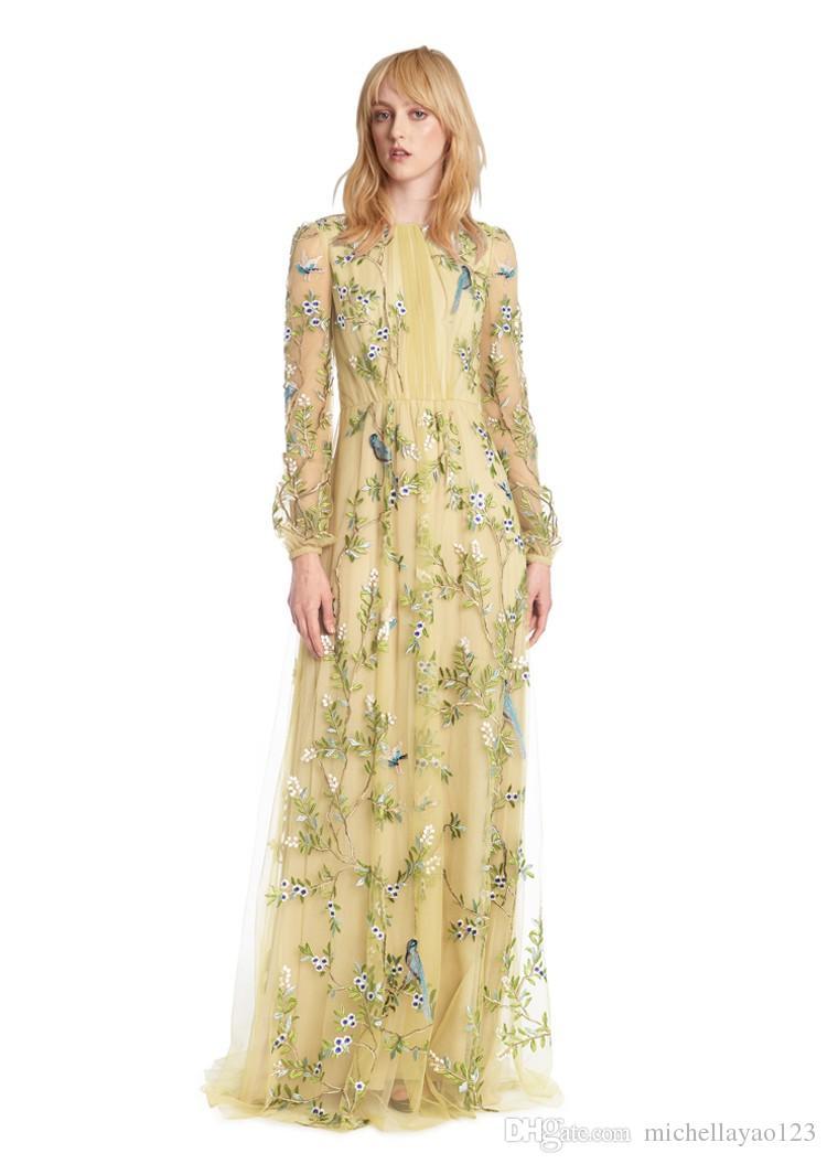 Gauze maxi dress for women