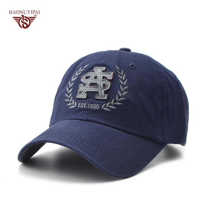 c2146b4730d Wholesale Adult Casual Visor Baseball Caps Cotton Solid Color Letter Patch Hats  Adjustable Snapback Cap Navy Blue Dark Gray Hat CL 464 Flat Caps Trucker ...