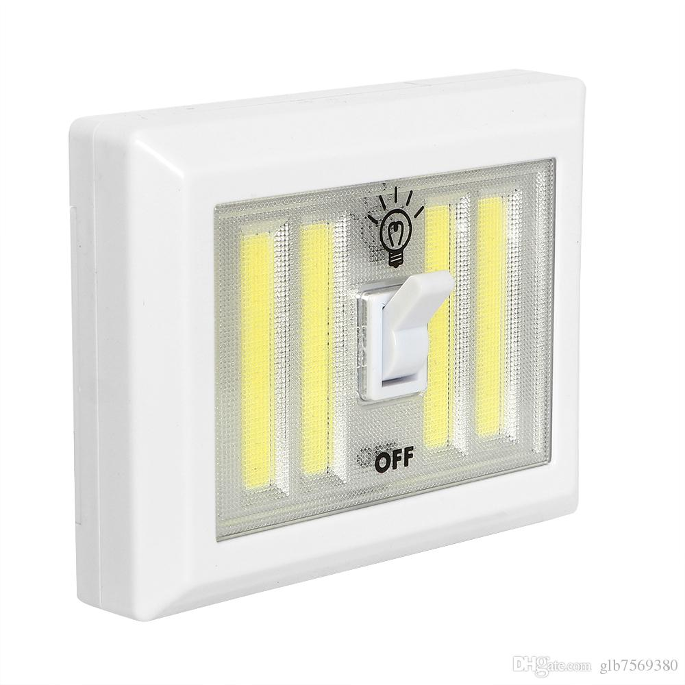 Magnetic 4* COB LED Cordless Light Switch Wall Night Lights ...