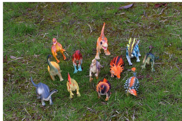 Free Ship 12pcs/lot 15-18cm Dinosaur Plastic Jurassic Play Model Action & Figures T-REX DINOSAUR Toys for Children With no Box