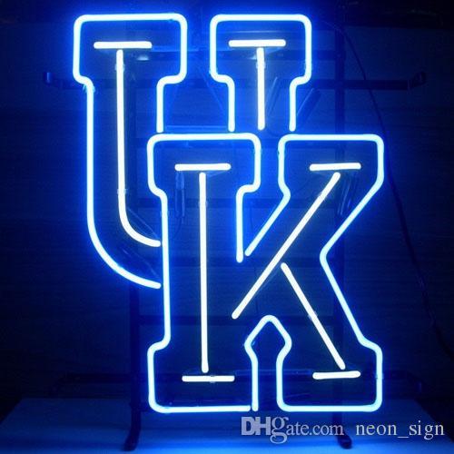 2018 Uk University Of Kentucky Wildcats Neon Sign College Handmade