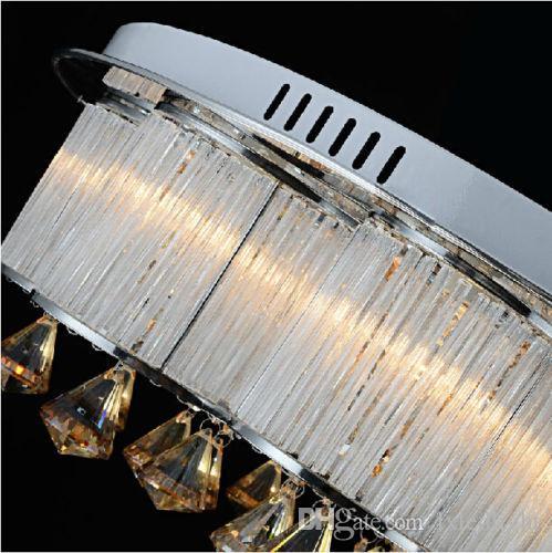 Freies Verschiffen NEUE LED zeitgenössische hängende Licht-Deckenleuchte-Leuchter-Kristallbeleuchtung