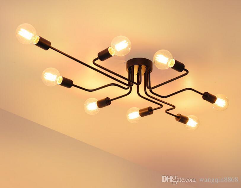 Plafoniere Vintage : Acquista plafoniere vintage illuminazione domestica lampada da