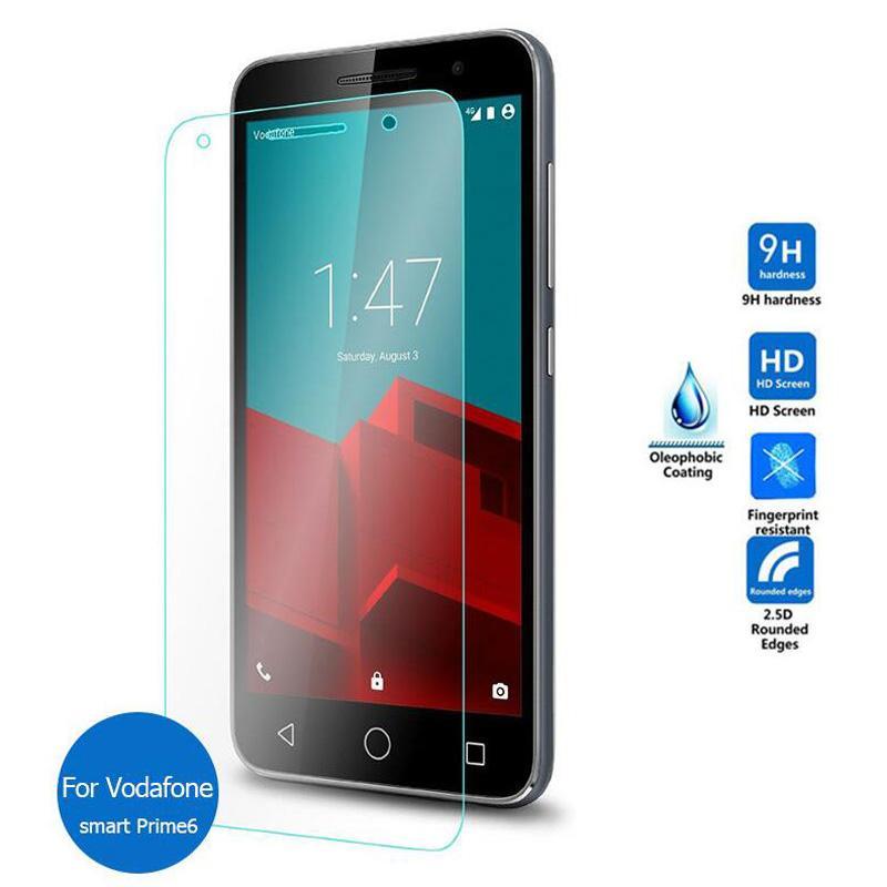 reputable site 1cf65 1c089 Wholesale- Slim 0.26mm 2.5D Tempered Glass Screen Protector case For  Vodafone Smart Prime / Ultra / Speed / First 6 Film pelicula de vidro
