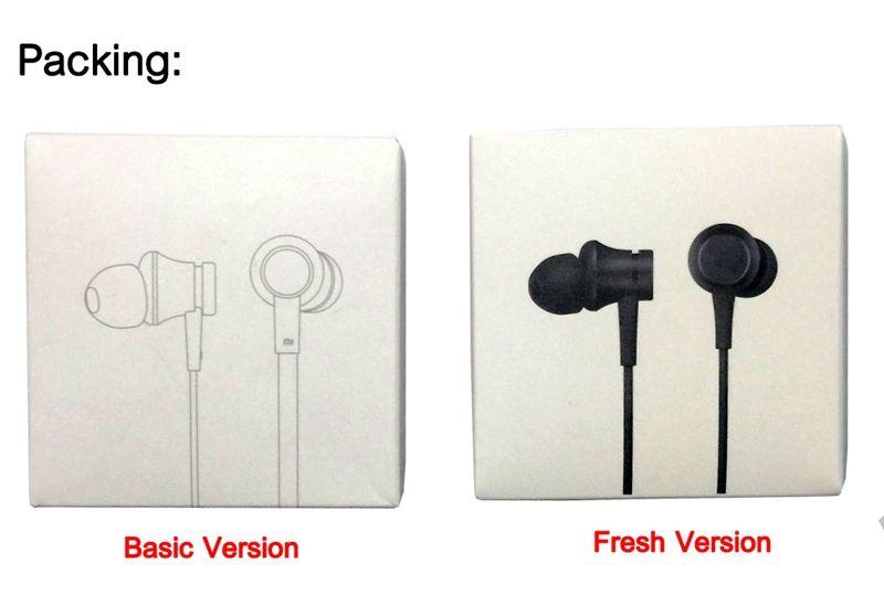 Mi Xiaomi Piston 3 Earphone In-Ear 3.5mm Colorful Earphone With Mic Basic Version Fresh Youth Version Earphones