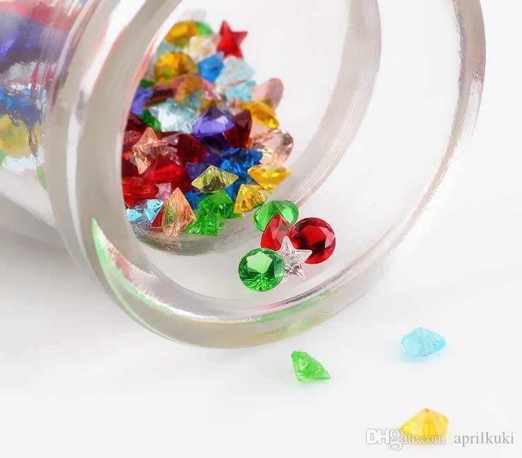 3style Crystal Beads Small Twinkling Birthstone Floating Charm for DIY Glass Floating Locket Accessories Easter Gifts