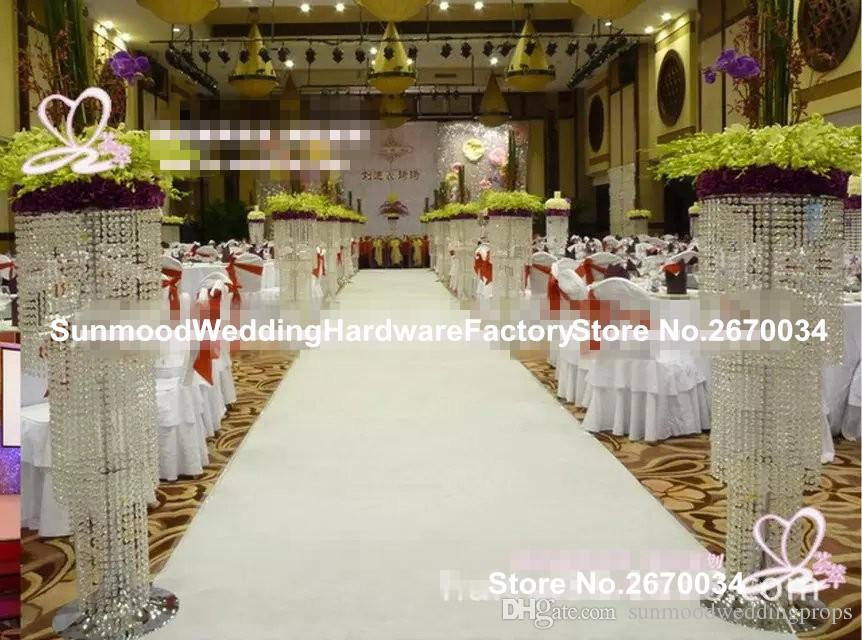 Tall Crystal Wedding Decoration Aisle Pillar for Weddings Decor Decorative  Wedding Pillars for Sale Hanging Crystals Wedding Centerpieces Wedding  Stages ...