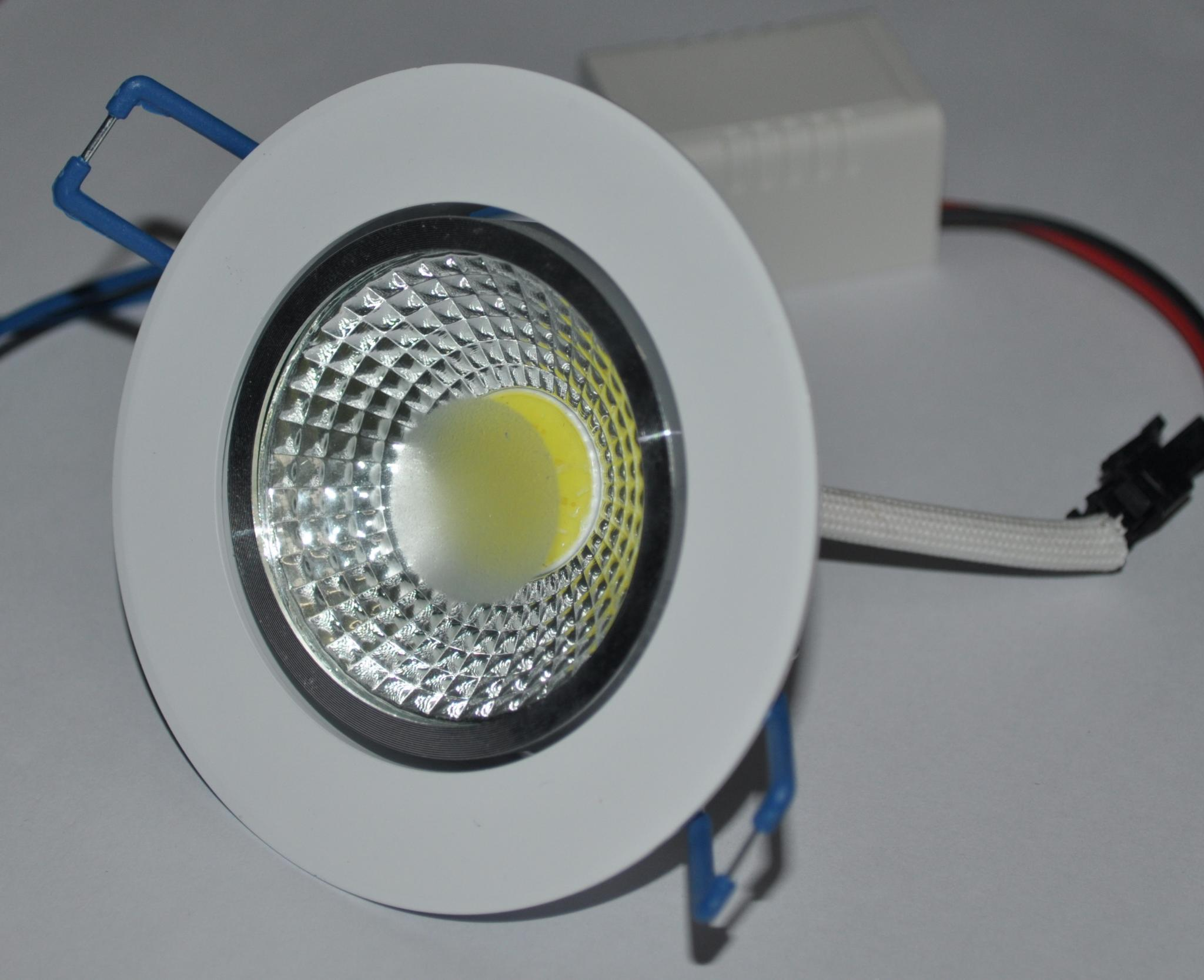 Wholesale Newest 7w 9w 12w Led Cob Chip Downlight Recessed Led ...