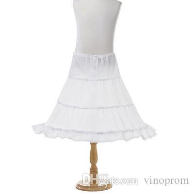 Vestito da ragazza Sottoveste 3 cerchi sotto le gonne Flower Girl Kids Ampia crinolina sottoveste da celebrità