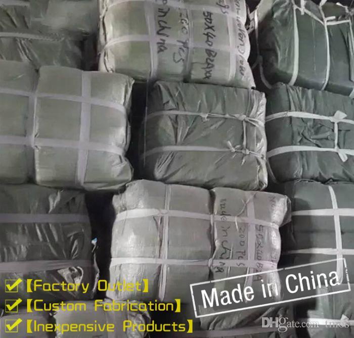 Por atacado rodada não-tecidos potes tecido da planta Bolsa Root Container crescer Bag Aeração Vasos Container Garden Planters