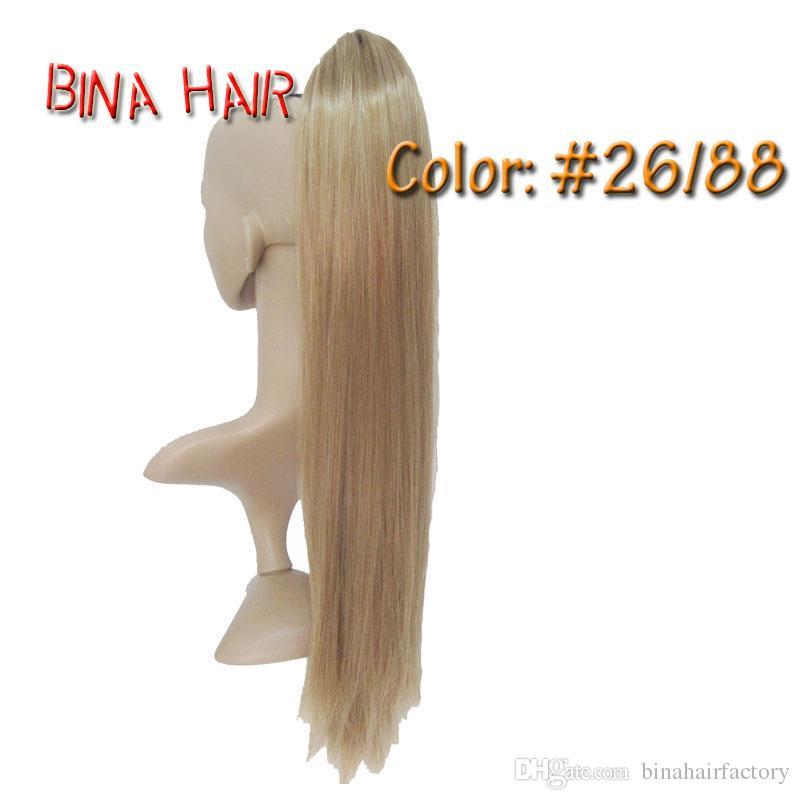 extension de cheveux de queue de cheval 24