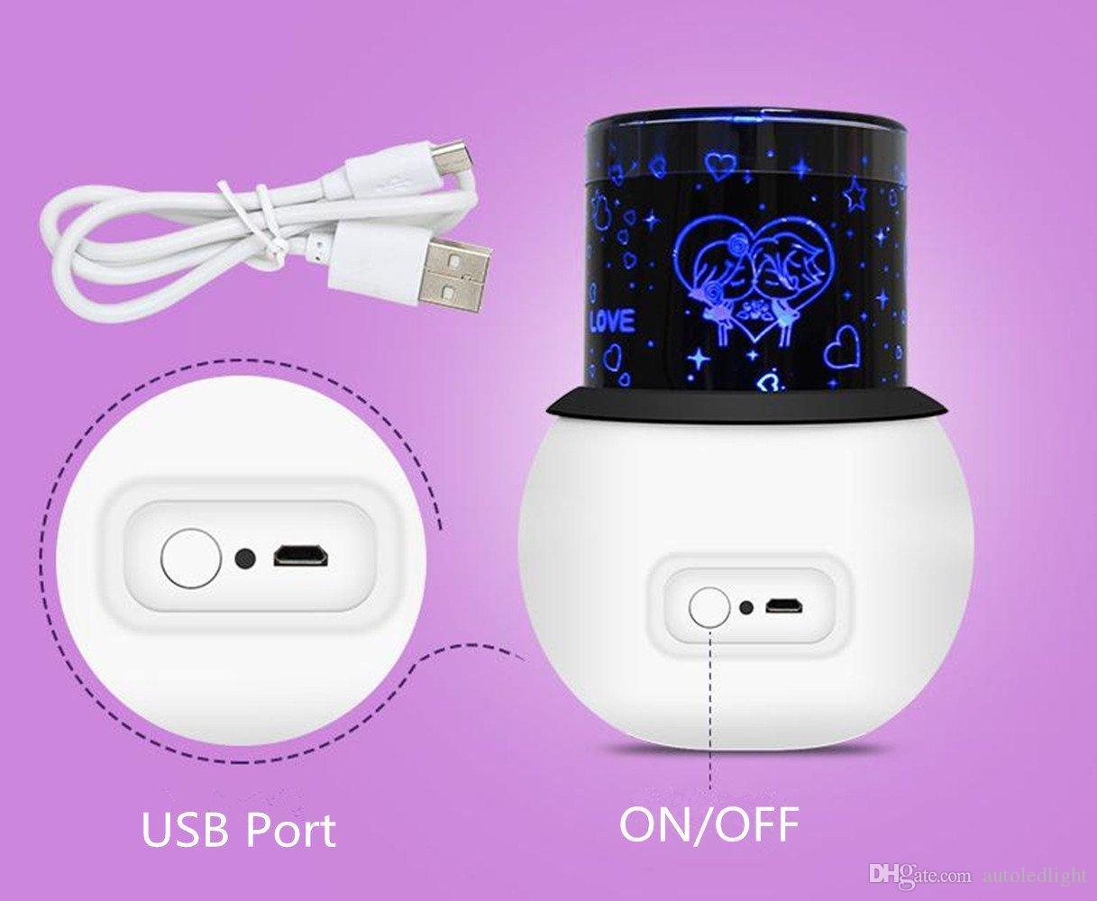 Sky LED lampe de projecteur, lumière de projecteur pour enfants et adultes, belle lumière décorative de cadeau de Noël, bébé nuit d'enfants