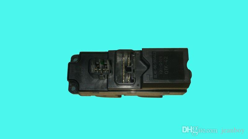 Interrupteur de levage de fenêtre maître d'électricité pour Mazda 323 Famille BJ 1999-2009 et Haima7 S3 Bl4e-66-350