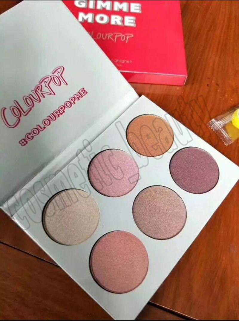 Colourpop I Like Your Face Gimme Eyeshadow Contour Makeup Highlighter Eye Shadow Palette