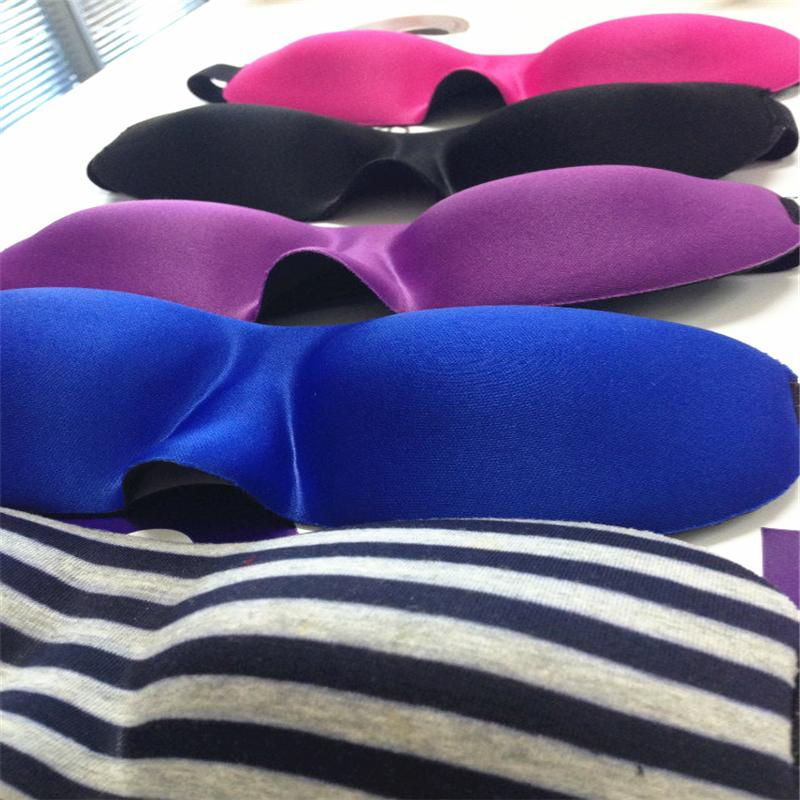 Hot Selling 3D Sleep Rest Travel Eye Mask NEWS fashion cute Comfortable pretty durable Sponge Cover Blindfold Shade Eyeshade Sleep Masks