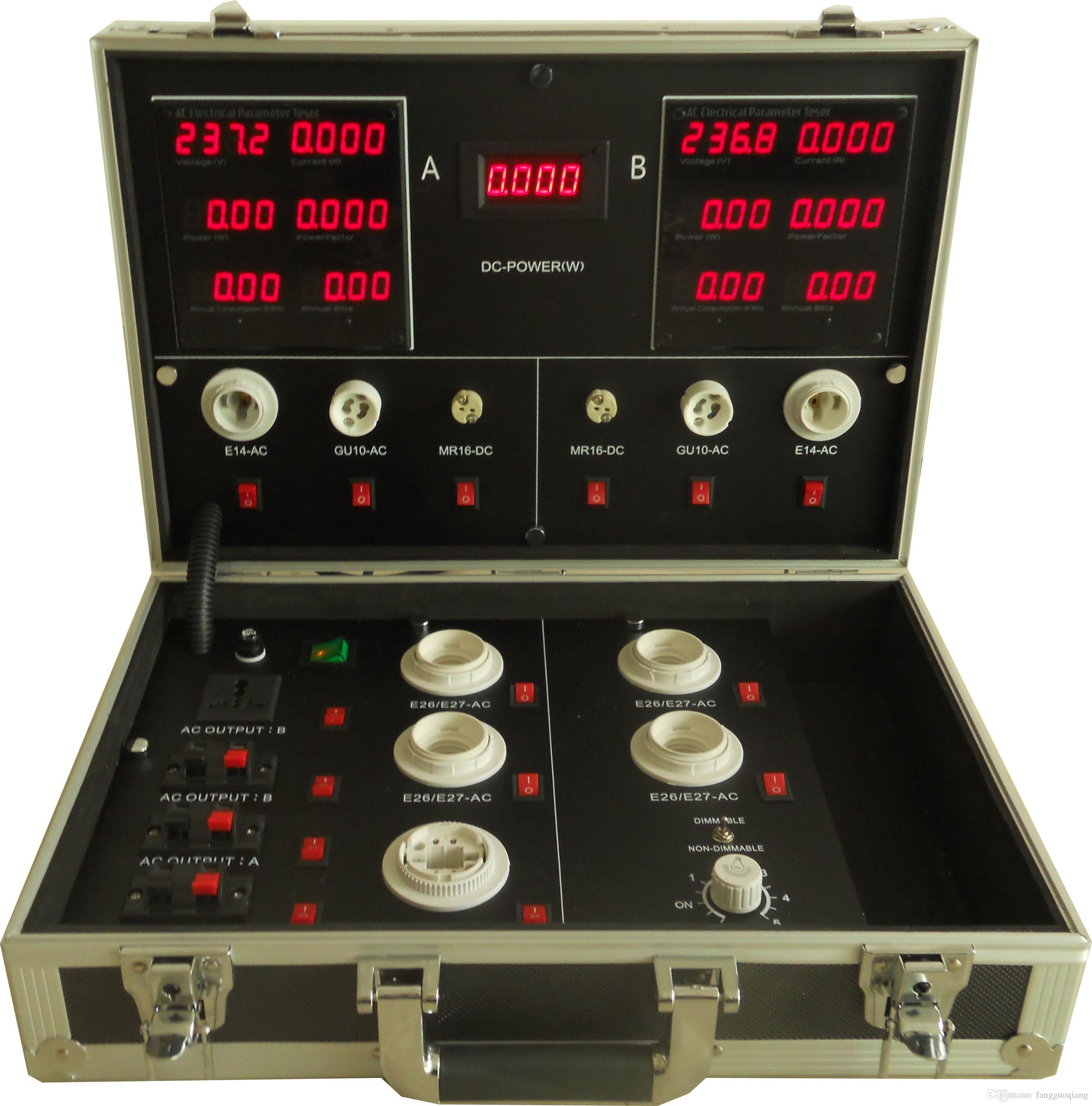 power-driver-tester-lamp-demo-case-led-demo Wunderschöne Test Led Lampen Gu10 Dekorationen