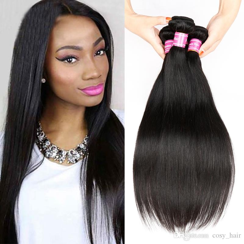 Cheap cosy straight human hair weaves extensions mongolian hair cheap cosy straight human hair weaves extensions mongolian hair wefts silky straight 8 26 inch natural color dyeable double weft no shedding wavy weave hair pmusecretfo Gallery