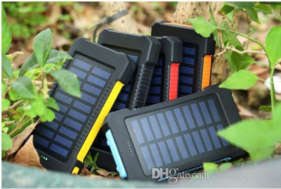 High quality solar power bank general mobile phones computer multi-functional external battery 8000 mah