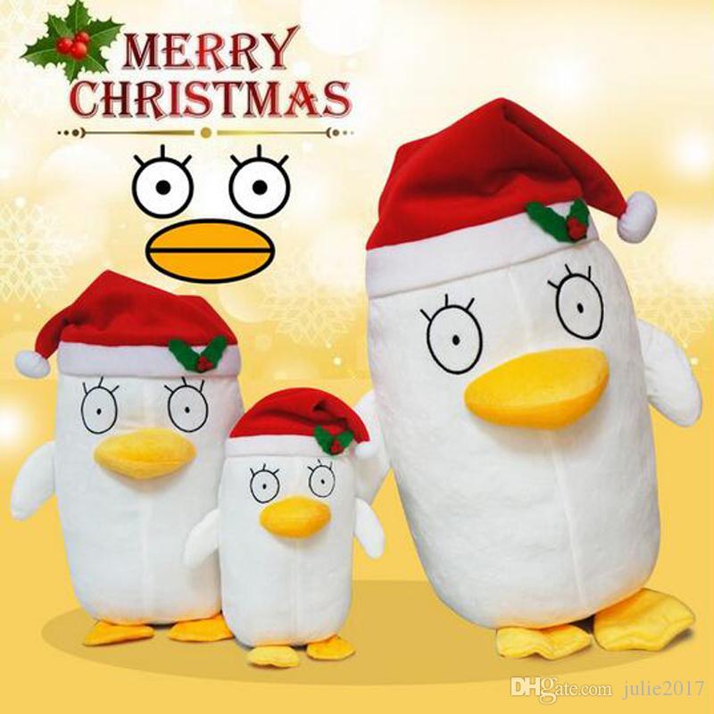 New Anime Gintama Elizabeth Plush Toys Cartoon Elizabeth Soft Stuffed Dolls For Children Best Christmas Gifts Retail