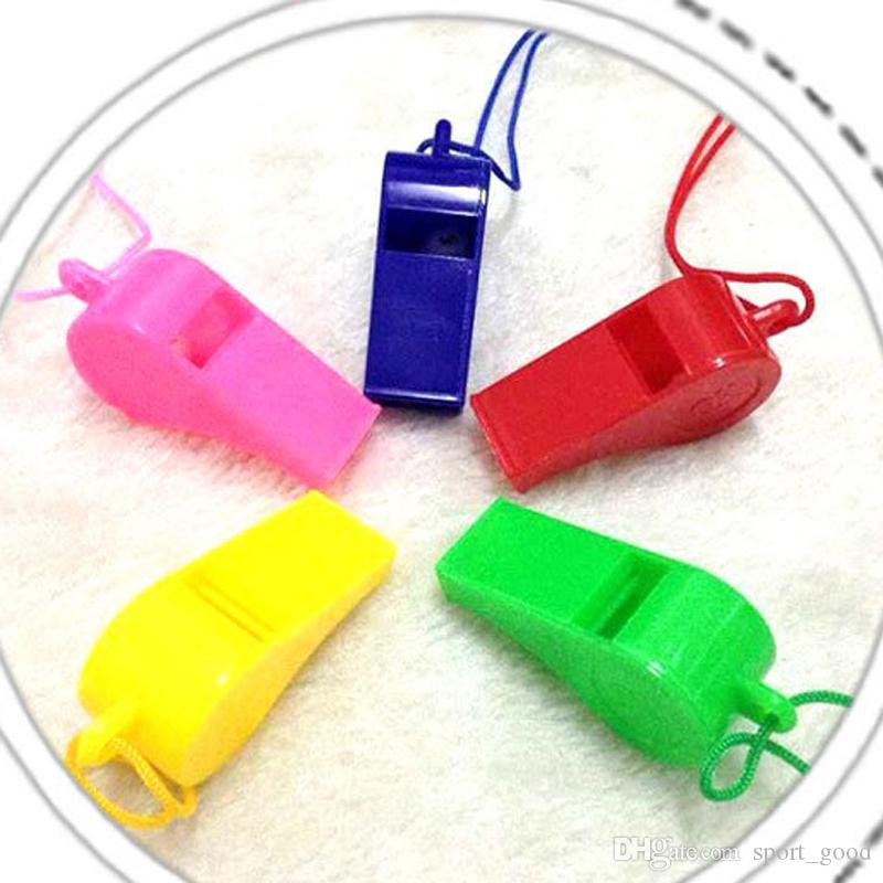 Referee School Soccer Sport Football Rugby Training Survival Party Seedless Plastic Metal Cheerleading Whistle Voice Loud Clear Whistle
