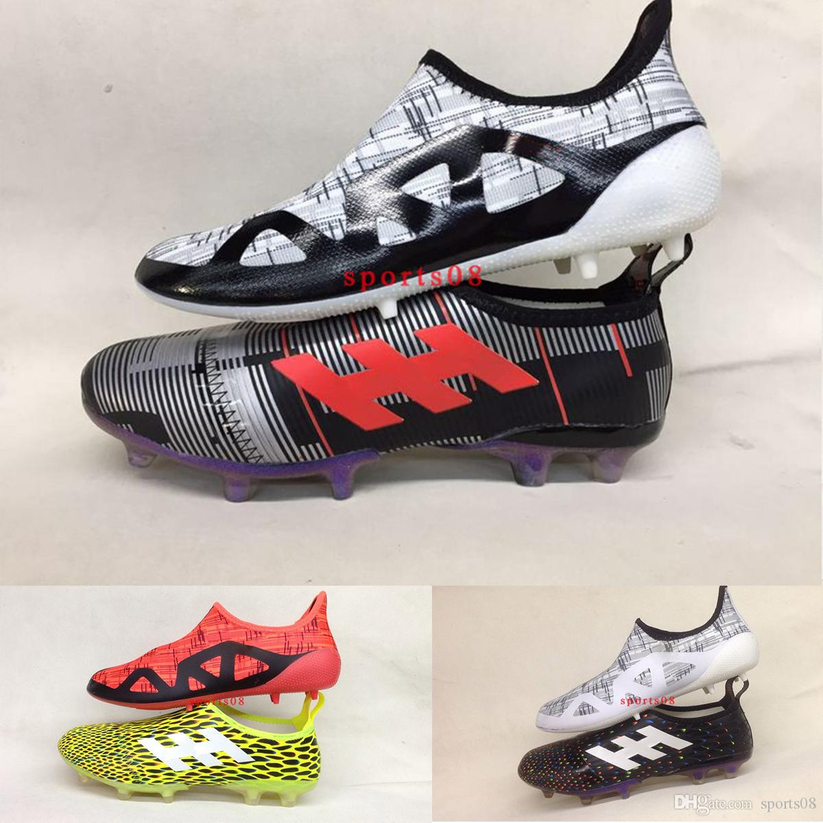50a042d5b1b 2019 2017 Classic New Limited Edition Glitch Skin FG Double Protection Soccer  Shoes Men Football Boots Good Quality Outdoor Soccer Boots 39 45 From  Sports08 ...