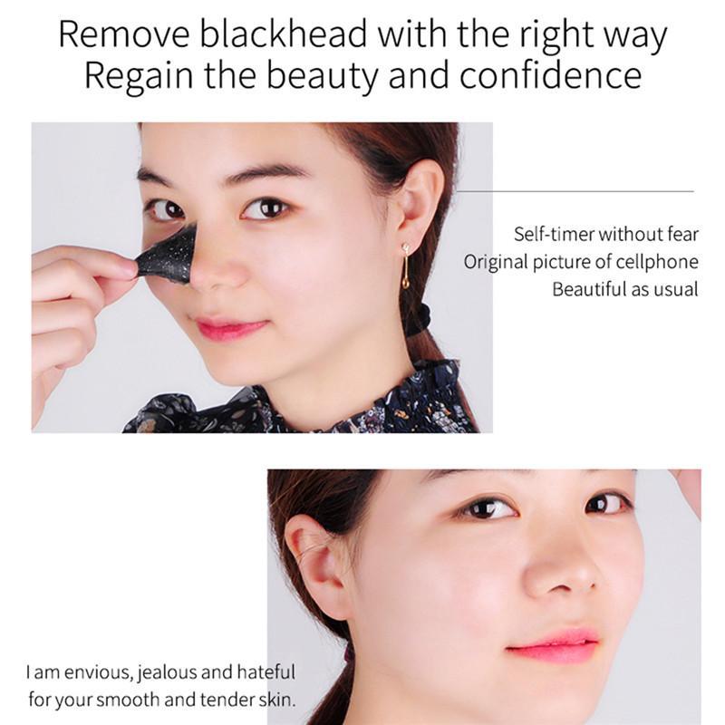 PILATEN Facial Minerals Conk Nose Blackhead Remover Mask Facial Mask Nose Blackhead Cleaner Mask Remove Black Head 15g for T Zone 1208012