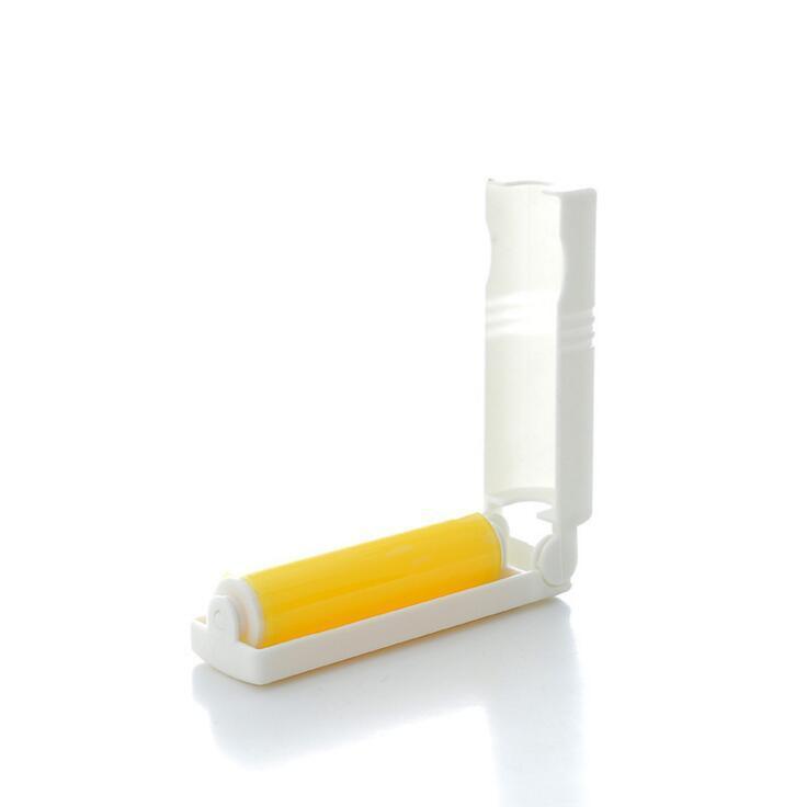 миниатюрный валик для ворса для переноски конфет для переноски с липкой щеткой