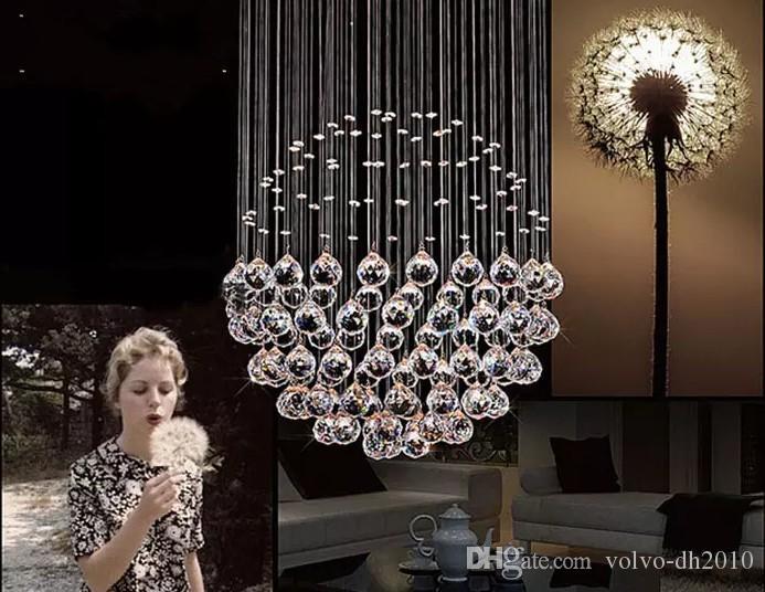 Mini Kristall Kronleuchter In Einer Glühbirne ~ Großhandel neue moderne led ball k kristall kronleuchter modische