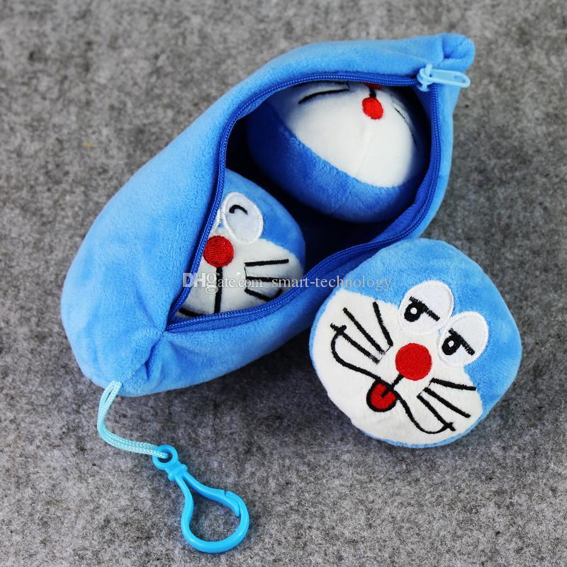 아이 선물 무료 배송 20cm 애니메이션 귀여운 도라에몽 봉제 포켓 봉제 부드러운 봉제 인형 장난감