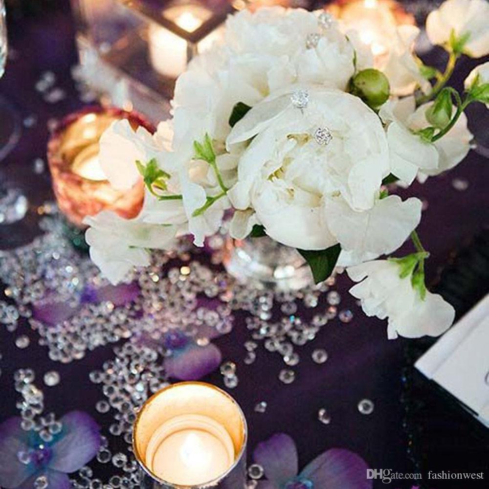 party decorations Diamond Strand Acrylic Crystal Bead Curtain Wedding DIY Party Decor