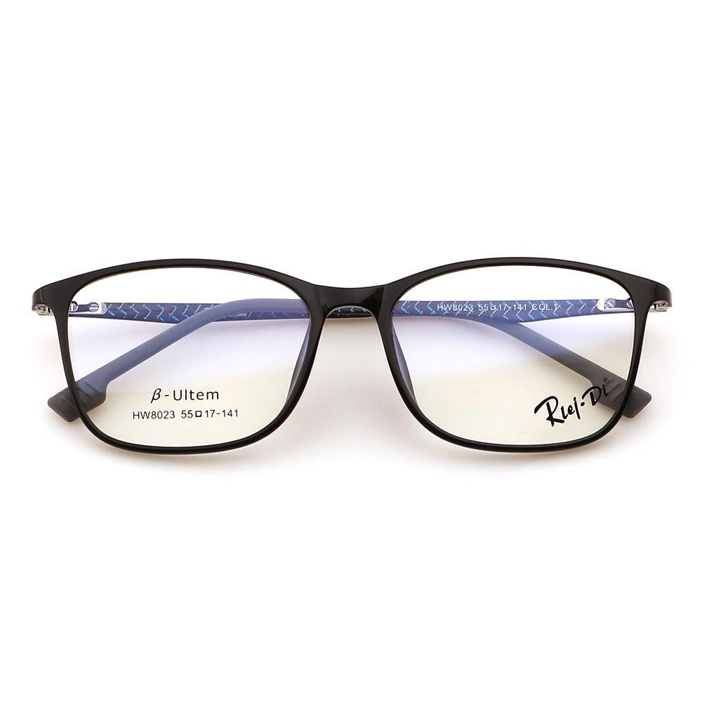 Compre RLEI DI Aço Carbono Ultra Leve De Plástico Armação Com Óculos Claros  Retro Óculos De Fibra De Carbono Mulheres Homens Miopia Óptico Transparente  ... 3f98988b74