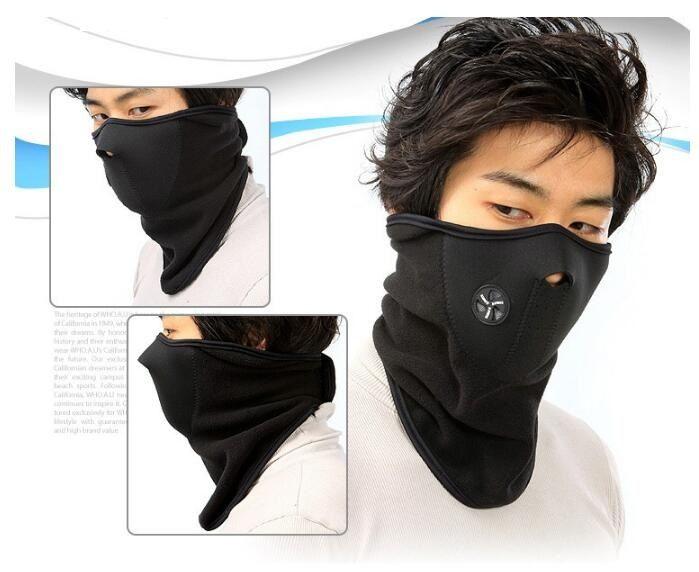 Fashion Thermal Halswärmer Fleece Balaclavas CS Hut Kopfbedeckung Winter Ski-Ohr-Winddichtes warmen Gesichtsmaske-Motorrad-Fahrrad Im Freien Maske